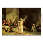 """""""The Dance of The Almeh"""", by Jean Leon Gerome Greeting Card"""