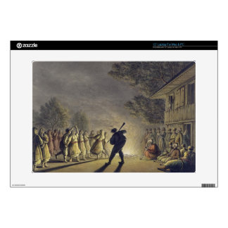 "The Dance of the Bulgarian Peasants, pub. by Willi 15"" Laptop Skin"