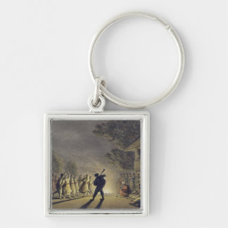 The Dance of the Bulgarian Peasants, pub. by Willi Key Chain