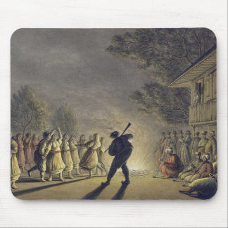 The Dance of the Bulgarian Peasants, pub. by Willi Mouse Pad