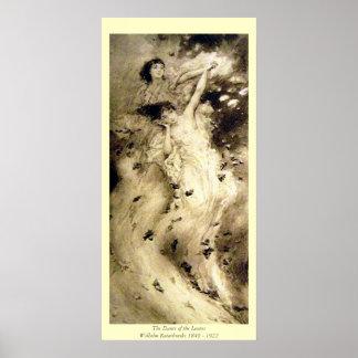 The Dance of the Leaves - Wilhelm Kotarbinski Poster