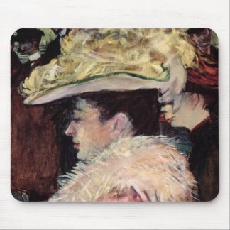 The Dance of the Rouge: detail of an elegan Mouse Pad
