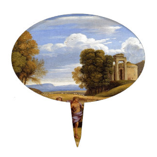 The Dance Of The Seasons by Claude Lorrain Cake Picks