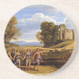 The Dance Of The Seasons by Claude Lorrain Drink Coaster