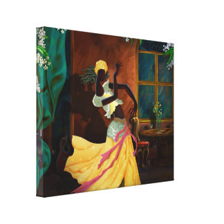 The Dancer Act 1 Canvas Print