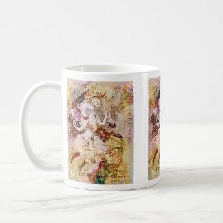 The Dancer and the Pierrot Christmas Coffee Mug