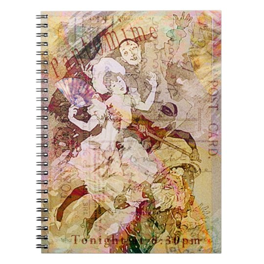 The Dancer and the Pierrot Christmas Notebook
