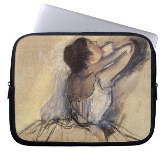 The Dancer by Edgar Degas, Vintage Ballerina Art Computer Sleeve
