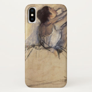 The Dancer by Edgar Degas, Vintage Ballerina Art iPhone X Case