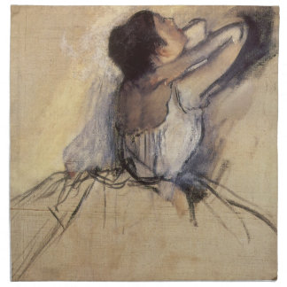 The Dancer by Edgar Degas, Vintage Ballerina Art Napkin