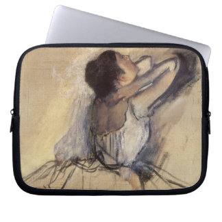 The Dancer by Edgar Degas, Vintage Ballet Art Computer Sleeve