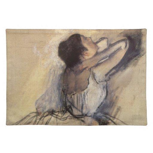 The Dancer by Edgar Degas, Vintage Ballet Art Placemats