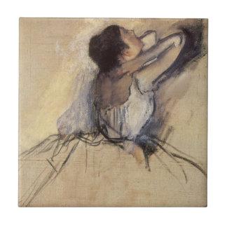 The Dancer by Edgar Degas, Vintage Ballet Art Ceramic Tiles