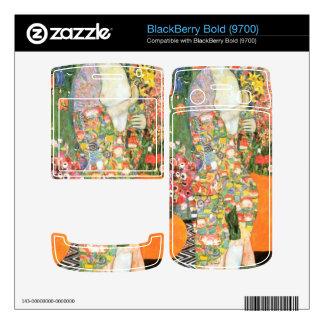 The dancer by Gustav Klimt Decal For BlackBerry Bold