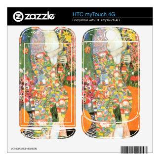 The dancer by Gustav Klimt Skins For HTC myTouch 4G