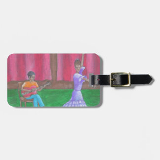 The Dancer Luggage Tag