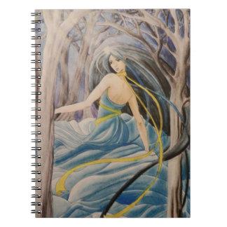 The dancer  Notebook