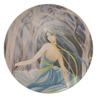 The dancer Plate