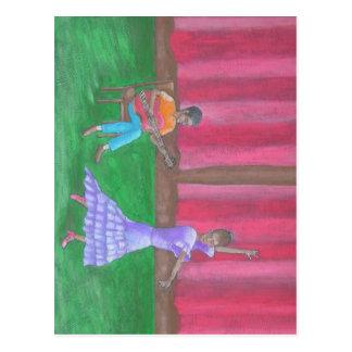 The Dancer Postcard
