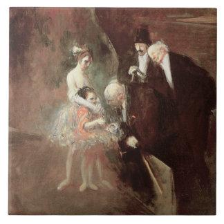 The Dancers, c.1925 (oil on canvas) Ceramic Tile
