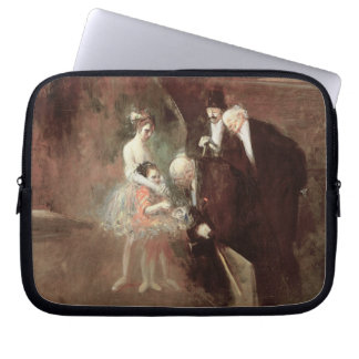 The Dancers, c.1925 (oil on canvas) Laptop Sleeve