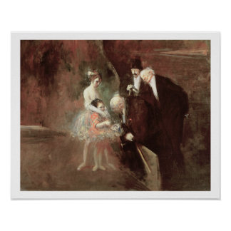 The Dancers, c.1925 (oil on canvas) Poster