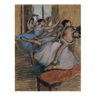 The Dancers - Edgar Degas Postcard