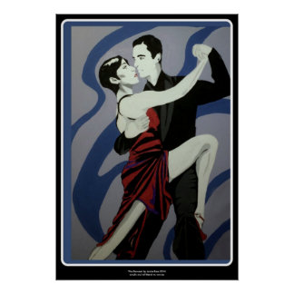 'the Dancers' painting on a Poster