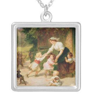 The Dancing Bear Custom Necklace