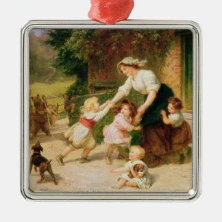 The Dancing Bear Christmas Tree Ornament