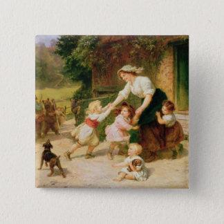 The Dancing Bear Pinback Button