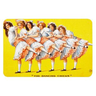 The Dancing Chicks, Premium Magnet