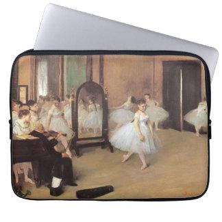 The Dancing Class by Edgar Degas, Vintage Ballet Computer Sleeve