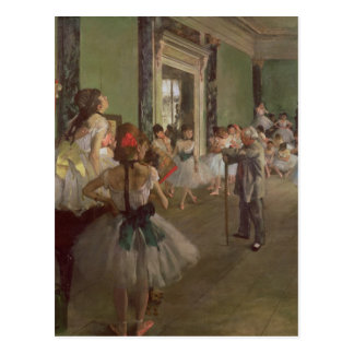 The Dancing Class, c.1873-76 Postcard