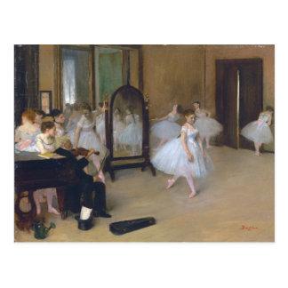 The Dancing Class - Edgar Degas Postcard