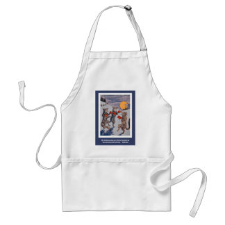 The Dancing Foxes Adult Apron