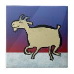 The dancing goat tile