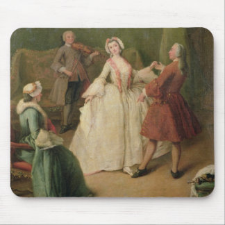 The Dancing Lesson Mouse Pad