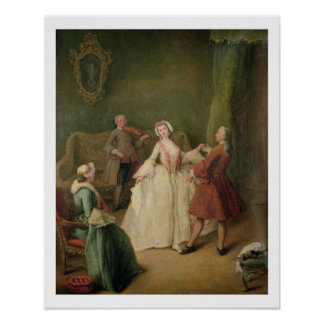 The Dancing Lesson Poster