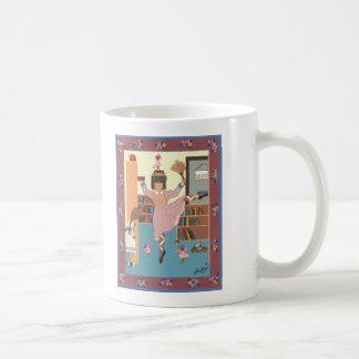 The Dancing Librarian Coffee Mug