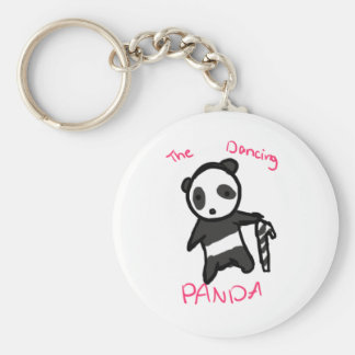 The Dancing Panda CandyCane Key Chains