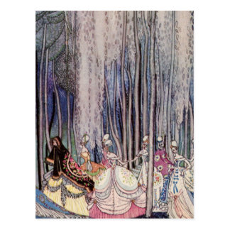 The Dancing Princesses Postcard