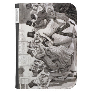 The Dancing Rooms, plate 3 of 'The Drunkard's Chil Kindle 3G Cover