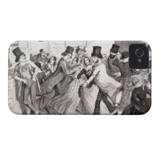 The Dancing Rooms, plate 3 of 'The Drunkard's Chil Case-Mate iPhone 4 Case