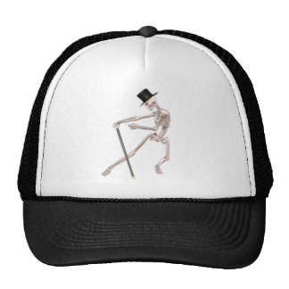 The Dancing Skeleton Trucker Hats