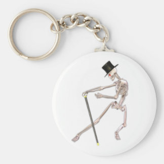The Dancing Skeleton Keychain