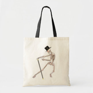The Dancing Skeleton Tote Bag
