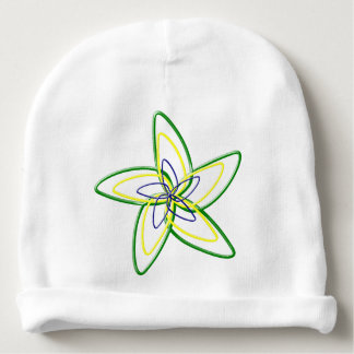 The Dancing Star Flower Baby Cotton Beanie