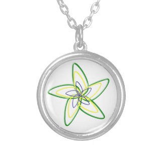 The Dancing Star Flower Necklace