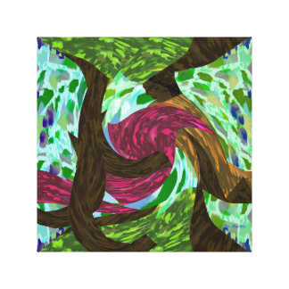 The Dancing Tree by Lin Masters Canvas Print